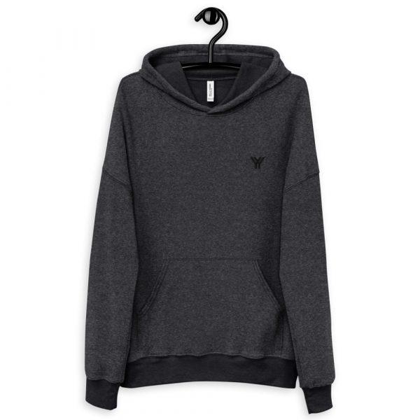 loungewear-unisex-sueded-fleece-hoodie-black-heather-front-614d963bd2c6f.jpg