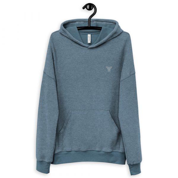 loungewear-unisex-sueded-fleece-hoodie-heather-slate-front-614d8bbd2a51e.jpg